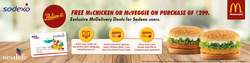 Offers from McDonald's in the Mumbai leaflet