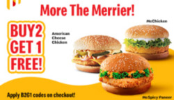 McDonald's coupon in Hyderabad ( 24 days left )