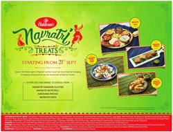 Offers from Haldiram's in the Ahmedabad leaflet
