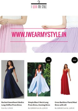 I Wear My Style offers in the I Wear My Style catalogue ( 5 days left)