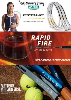 Sports offers in the Sportsjam catalogue ( 9 days left)