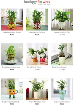 Brother offers in the BookMyFlowers catalogue ( Expires today)