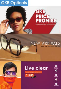 Perfume & Beauty offers in the GKB Opticals catalogue in Delhi ( 17 days left )