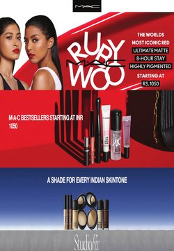 Perfume & Beauty offers in the MAC Cosmetics catalogue in Delhi ( 10 days left )