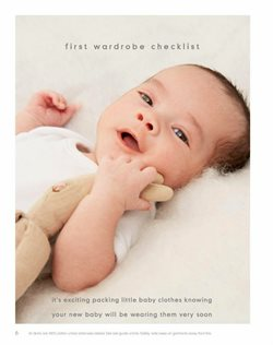 Baby clothes offers in the Mothercare catalogue in Delhi