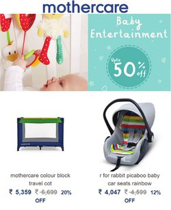 Toys & babies offers in the Mothercare catalogue ( 7 days left)