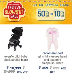 Toys & babies offers in the Mothercare catalogue ( Expires tomorrow)