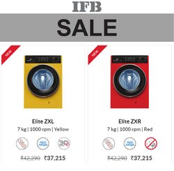 IFB offers in the IFB catalogue ( Expires tomorrow)