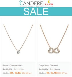 Jewellery offers in the Kalyan Jewellers catalogue ( Expires today)
