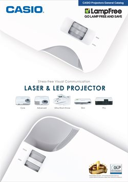 Projector offers in the Casio catalogue in Delhi
