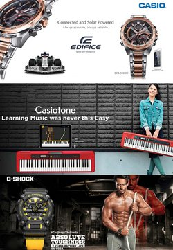 Mobiles & Electronics offers in the Casio catalogue ( Expires tomorrow)