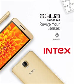 Offers from Intex in the Malegaon leaflet