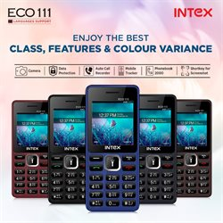 Mobiles & Electronics offers in the Intex catalogue in Trichy ( More than a month )