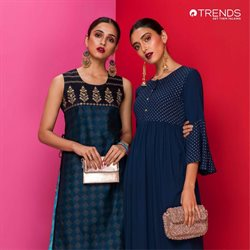 Offers from Reliance Trends in the Allahabad leaflet