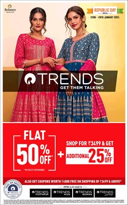 Reliance Trends catalogue ( Expires tomorrow )