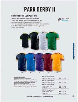 Football offers in the Nike catalogue in Delhi