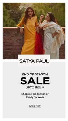 Satya Paul catalogue ( Expired )