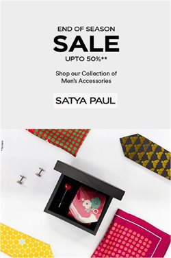 Satya Paul catalogue ( Published today )