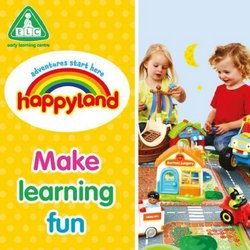 Early Learning Center catalogue ( Expired )