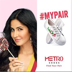 Shoes offers in the Metro Shoes catalogue in Delhi