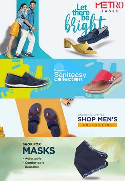 Clothes, shoes & accessories offers in the Metro Shoes catalogue ( 5 days left)