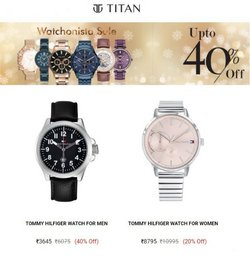 Tommy Hilfiger offers in the Titan catalogue ( 7 days left)
