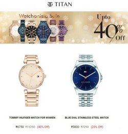 Tommy Hilfiger offers in the Titan catalogue ( 1 day ago)