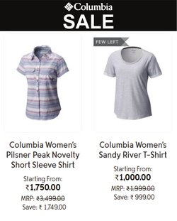 Sports offers in the Columbia Sportswear catalogue ( 10 days left)