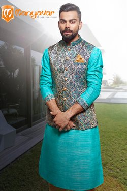 Offers from Manyavar in the Kolkata leaflet
