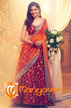 Offers from Manyavar in the Hyderabad leaflet