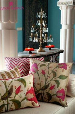 Cushions offers in the Goodearth catalogue in Delhi