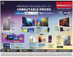Offers from Reliance Digital in the Coimbatore leaflet