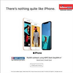 Smartphones offers in the Reliance Digital catalogue in Delhi