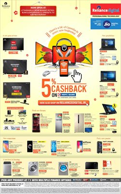 Mobiles & Electronics offers in the Reliance Digital catalogue in Bhilai