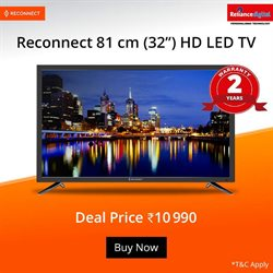 TV offers in the Reliance Digital catalogue in Delhi