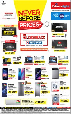 Mobiles & Electronics offers in the Reliance Digital catalogue in Bokaro Steel City