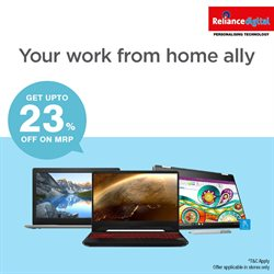 Mobiles & Electronics offers in the Reliance Digital catalogue in Jamnagar ( More than a month )