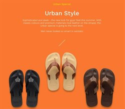 Sandals offers in the Havaianas catalogue in Delhi