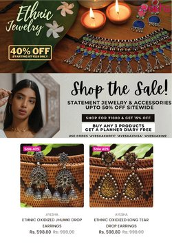 Ayesha offers in the Ayesha catalogue ( 5 days left)
