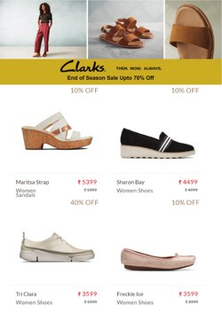 Clarks offers in the Clarks catalogue ( 1 day ago)