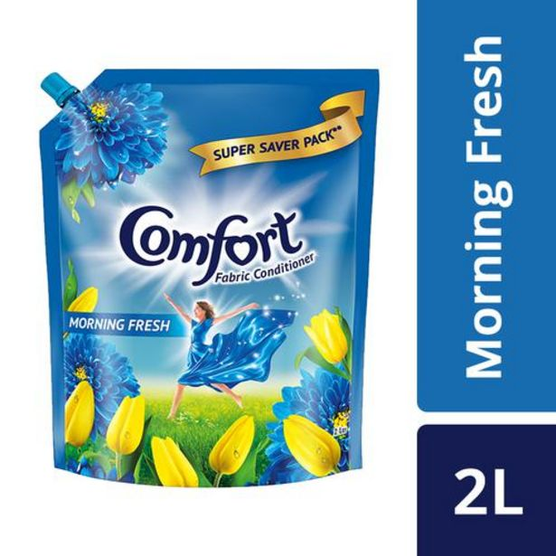 Comfort After Wash Morning Fresh Fabric Conditioner offer at ? 415