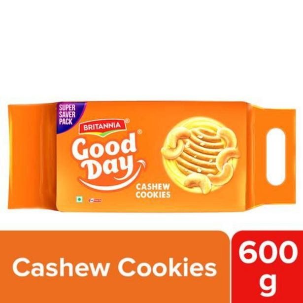 Britannia Good Day Cashew Cookies offer at ? 80