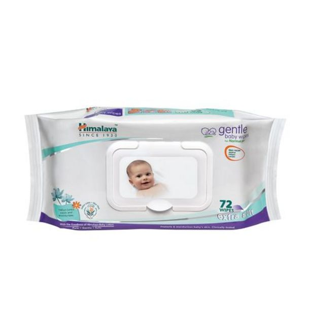 Himalaya Baby Wipes - Gentle Baby offer at ? 166