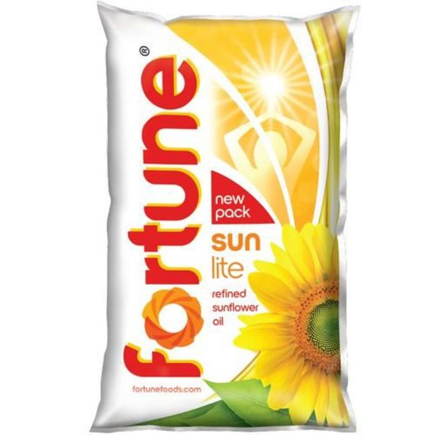 Fortune  Sunflower Refined Oil offer at ? 160