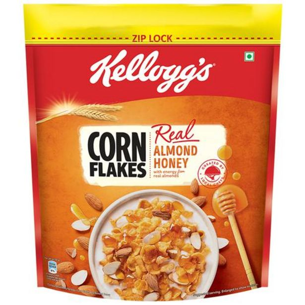 Kelloggs Corn Flakes With Real Almond & Honey offer at ? 470