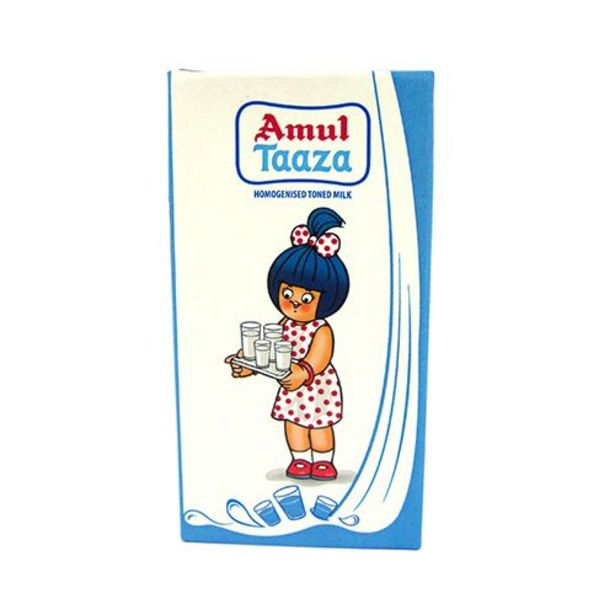 Amul Fresh Toned Milk offer at ? 31.96