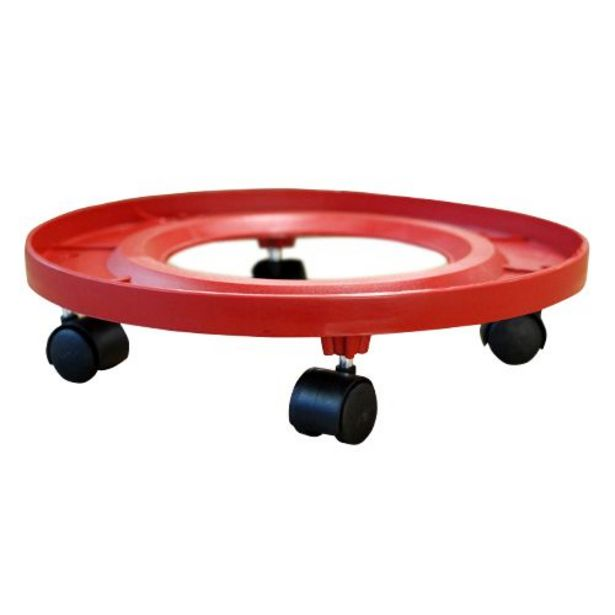 Anjali Cylinder Trolley Round - Super Gas, Plastic offer at ? 129