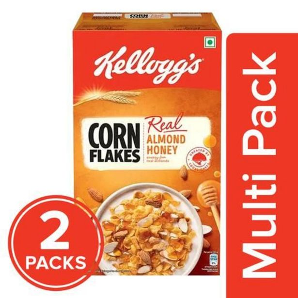 Kelloggs Corn Flakes With Real Almond & Honey offer at ? 513