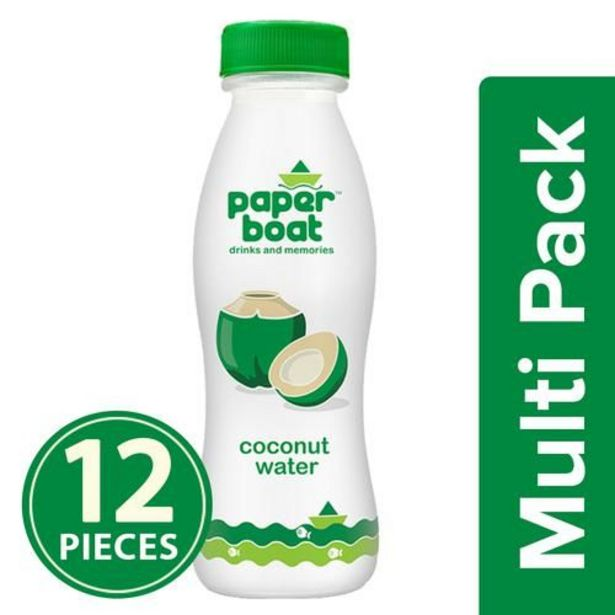 Paper Boat Coconut Water - Refreshing Flavour, Vital Electrolytes offer at ? 393.12