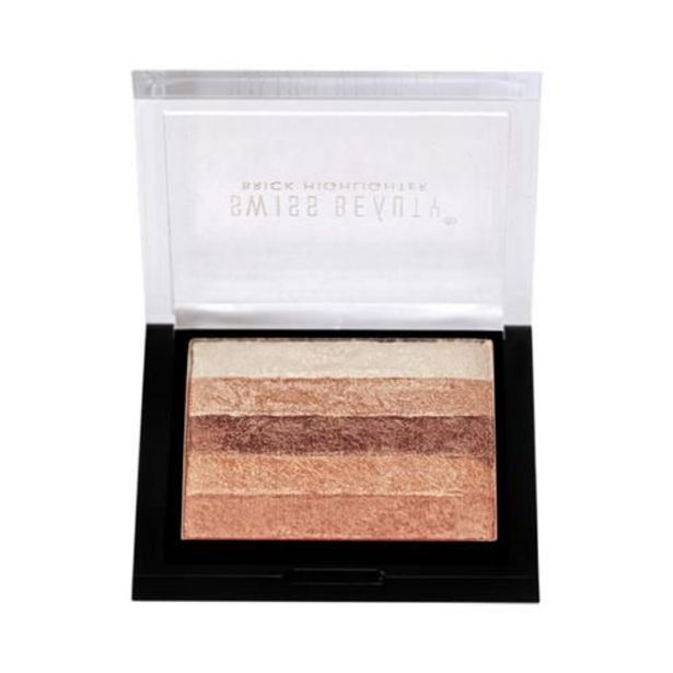 Swiss Beauty Brick Highlighter - Multicolour offer at ? 279.2